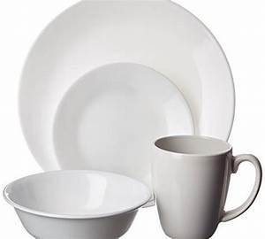 Mikrowelle Geschirr Glas : corelle geschirr set winter frost white aus vitrelle glas f r 4 personen 16 teilig splitter ~ Watch28wear.com Haus und Dekorationen