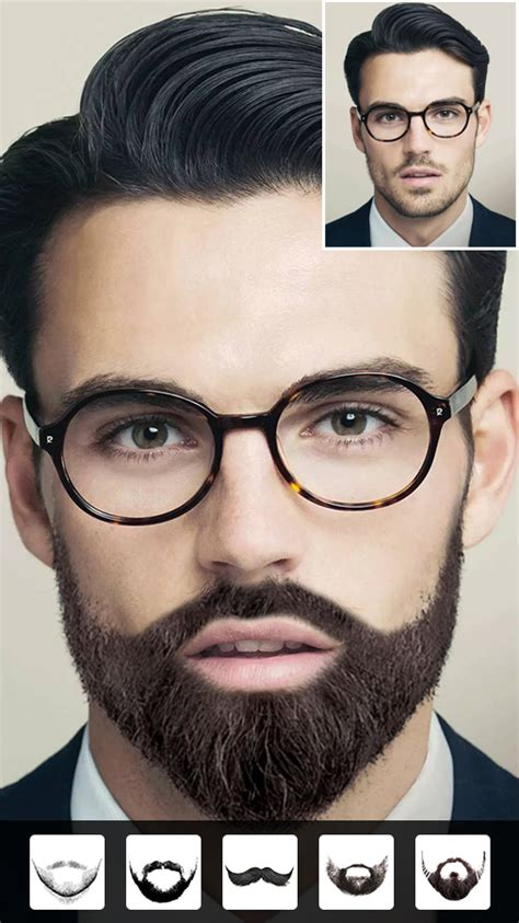 beard photo editor hairstyle mod unlimited android apk