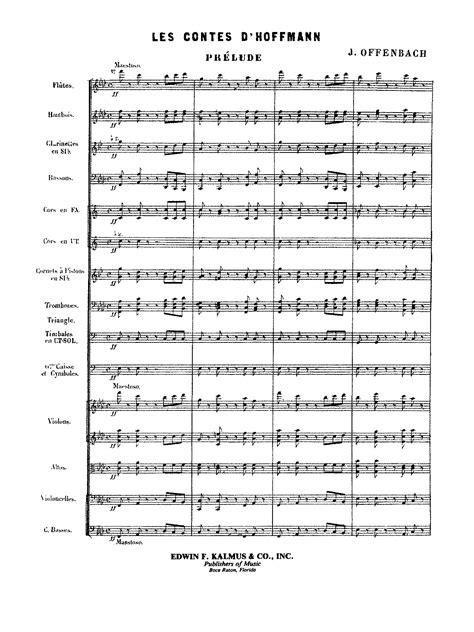 amazon com offenbach les contes d hoffmann orchestra