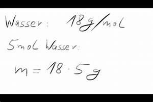 Mol Berechnen Formel : video mol in kg umrechen so geht 39 s ~ Themetempest.com Abrechnung