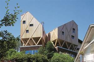 Holz Künstlich Vergrauen : atelier und wohnhaus moderne einfamilienh user ~ Frokenaadalensverden.com Haus und Dekorationen