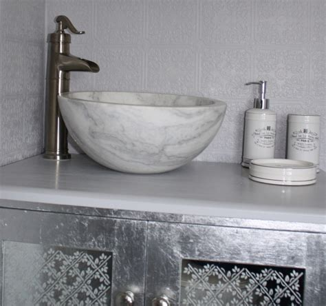 small white vessel sink small vessel sink bowl honed white marble contemporary