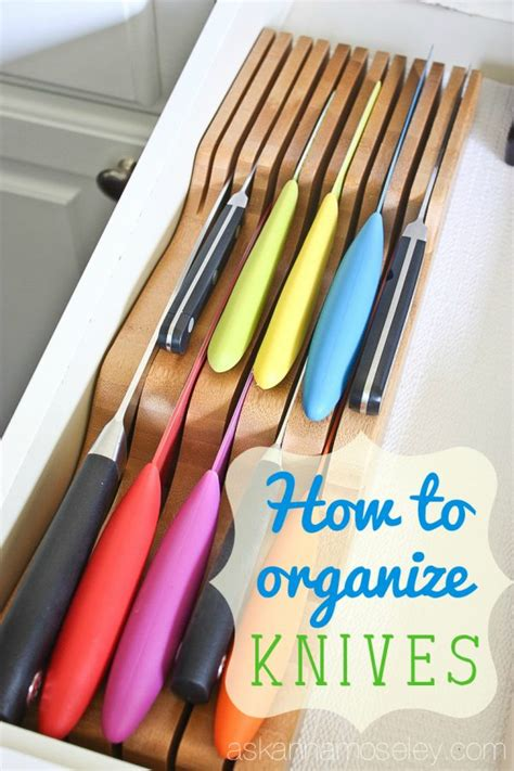 Organize Kitchen Knives how to organize kitchen knives ask