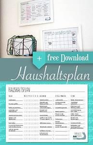 Wochenplan Haushalt Familie : haushaltsplan mit vorlage zum download tip pinterest planer haushaltsplaner und vorlagen ~ Markanthonyermac.com Haus und Dekorationen