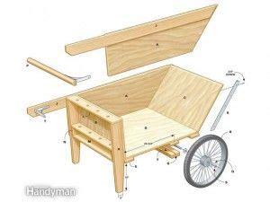 garden cart wheelbarrow plans diy outdoor projects garden cart wooden garden wheelbarrow