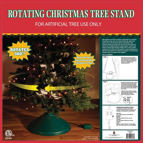 revolving christmas trees with lights home logic rotating artificial christmas tree stand
