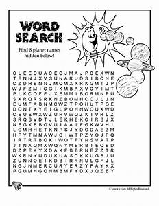 Solar System Word Search - Woo! Jr. Kids Activities