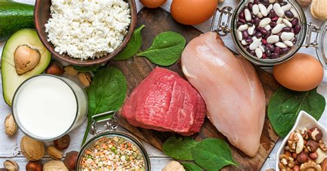 ultimate list  high protein foods  healthy eating