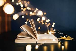 Hd, Wallpaper, Making, Magic, With, Fairy, Lights, Time, Decoration, Bokeh, Book