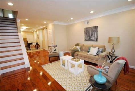 Brazilian Cherry Hardwood Floors   Transitional   Living