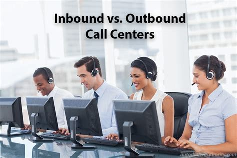 Types Of Call Centers Inbound & Outbound Autodialer