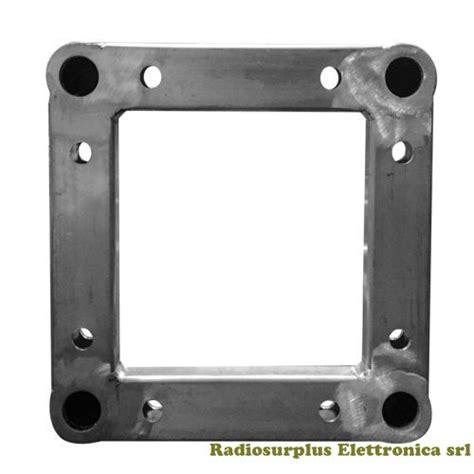 traliccio in alluminio traliccio quadrato in alluminio lato 40 x 40 cm 2 metri