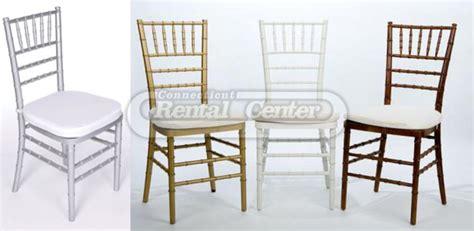rent chiavari chairs from ct rental center