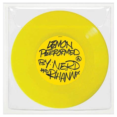 nerd  rihannas lemon set    vinyl release