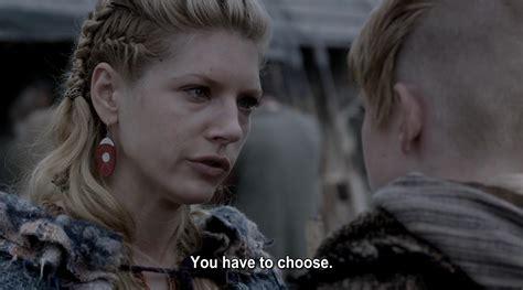 Lagertha And Bjorn Leave Ragnar