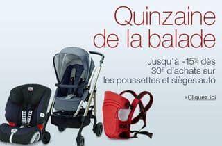 code promo amazon siege auto sécurité bébé safety 20 de remise dès 30 d