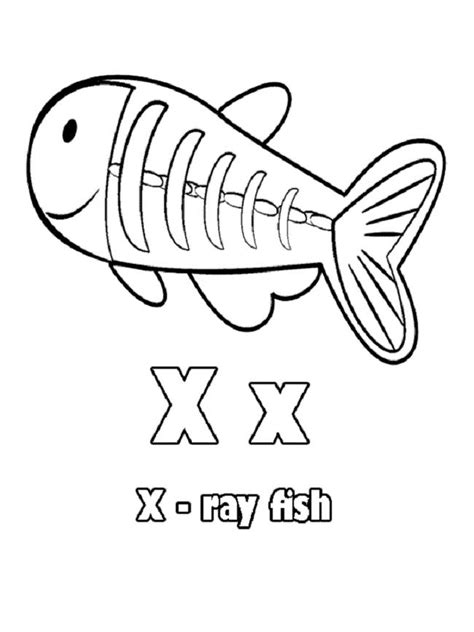 X For Coloring by X Coloring Pages For Coloring Pages