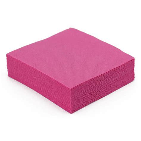 nappe et serviette en papier serviette de table en papier fuchsia microgaufr 233 233 paisseur 38 cm nappes et serviettes