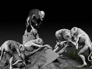 Carlos Garc U00eda Rivera  Artista Digital  Ghouls
