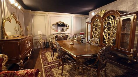 New Collections Of Luxury Classic Furniture A Dining Room