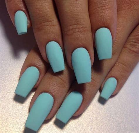 color acrylic nails aqua blue nail color blue nail blue