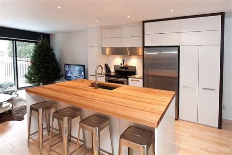 cuisine moderne comptoir cuisine moderne materiaux accueil design et