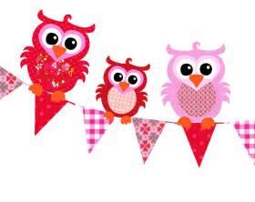 len für kinderzimmer studio poppy tapetenwimpeln mit eulen rot rosa 220cm bei fantasyroom kaufen