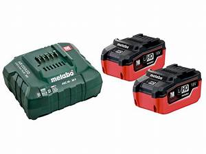 Batterie Aeg 18v 5ah : metabo 685122000 18v 2x5 5ah lihd battery starter kit ebay ~ Louise-bijoux.com Idées de Décoration