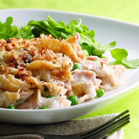 healthy casseroles skillet tuna noodle casserole recipe eatingwell