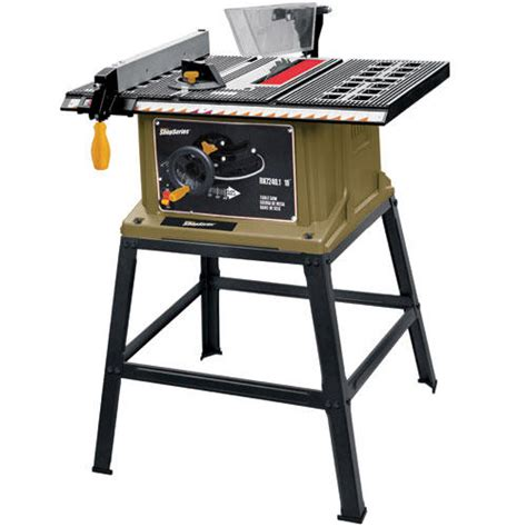 4 tile saw menards rockwell 174 shopseries 10 quot table saw with stand at menards 174