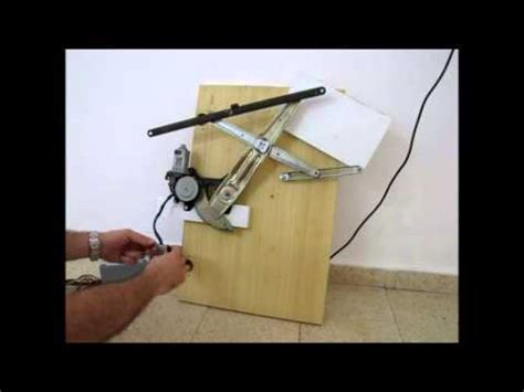 electric car window power window mechanism youtube