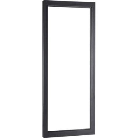 cuisine bois noir fenêtre aluminium 1 vantail sans ouverture h 60 x l 150 cm