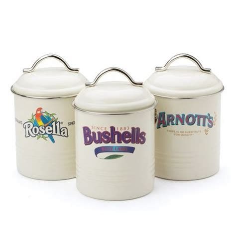 Canister Sets Australia by Arnotts Bushells Rosella Canister Set For 33 95 Everten