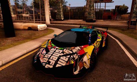 Lamborghini Lp750-4 2013 Veneno Stikers Editions For Gta