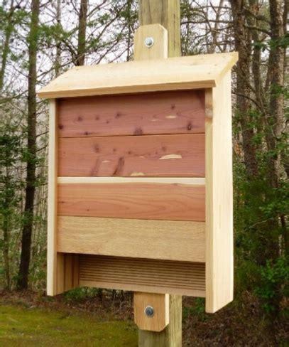 build  cedar bat house plans include