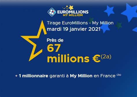 C'était généralement le 7e jour du mois de pluviôse dans le calendrier républicain français. Résultat Euromillions du mardi 19 janvier 2021 : My ...
