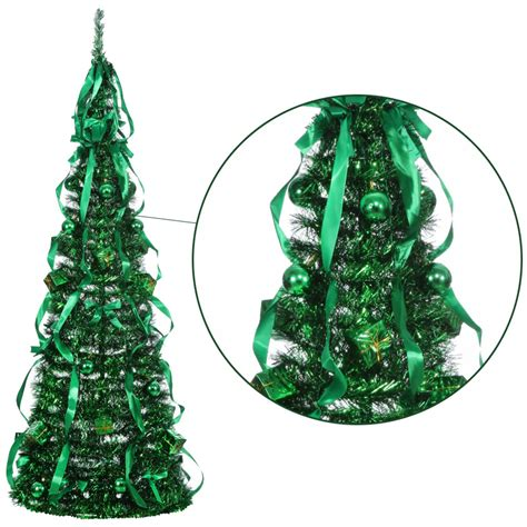 6ft Christmas Tree Pre Lit by Homegear 5ft Artificial Decorated Collapsible Christmas