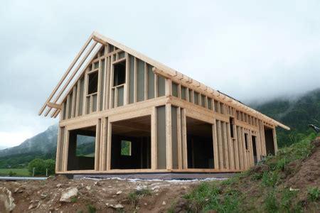 maisons ossature bois la technique de construction