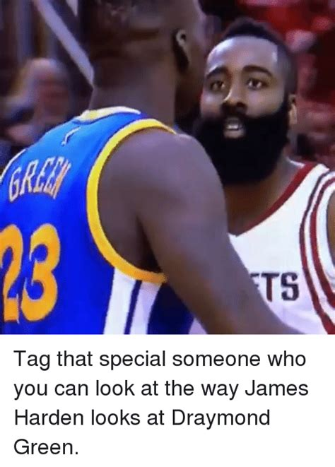 Draymond Green Memes - t5 tag that special someone who you can look at the way james harden looks at draymond green