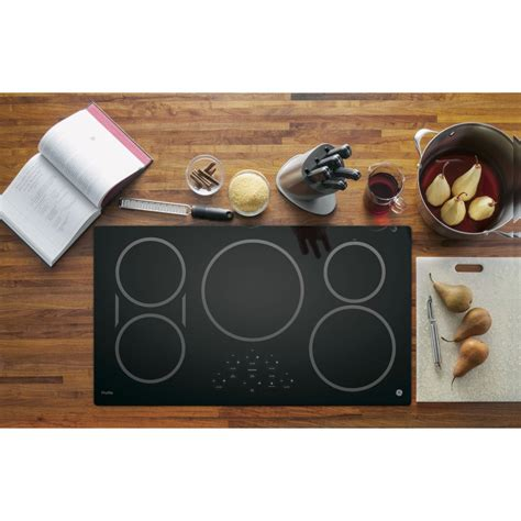 ge induction cooktop 36 profile built electric inch series touch control ceramic cooktops cooking smoothtop appliances burner whirlpool elements surface