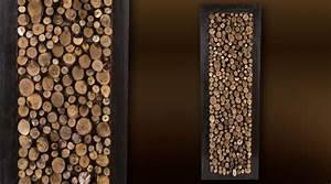 Décoration Murale En Bois : bois mural deco l 39 habis ~ Dailycaller-alerts.com Idées de Décoration