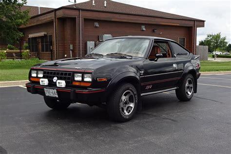 1983 Amc Eagle Sport Sx4 4x4 Car In Black Paint & Engine