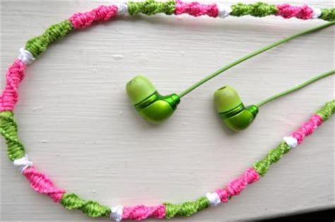friendship bracelet headphones fun family crafts