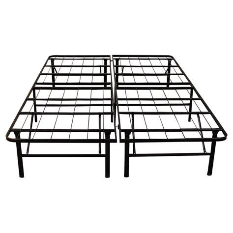 platform metal bed frame classic brands hercules 14 quot platform heavy duty metal bed