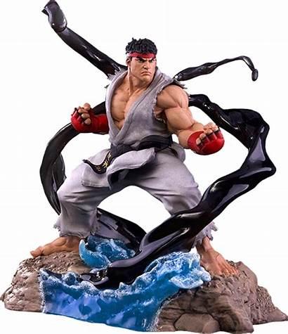 Ryu Fighter Street Trigger Sfv Sideshow Transparent