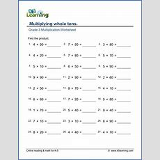 Third Grade Math Worksheets  Free & Printable  K5 Learning