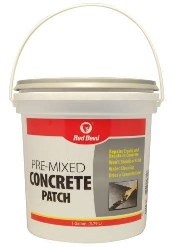 pre mixed concrete patch  gallon