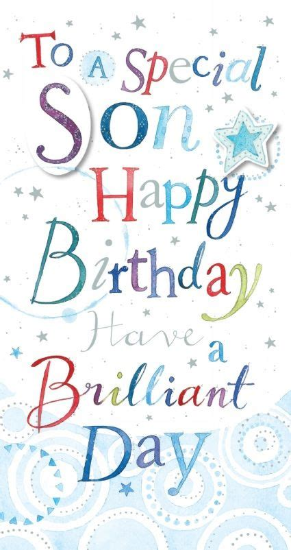 ling design son happy birthday card birthday cards