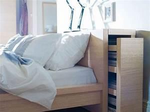 Lit Ikea Rangement : des rangements dans tous les recoins elle d coration ~ Teatrodelosmanantiales.com Idées de Décoration