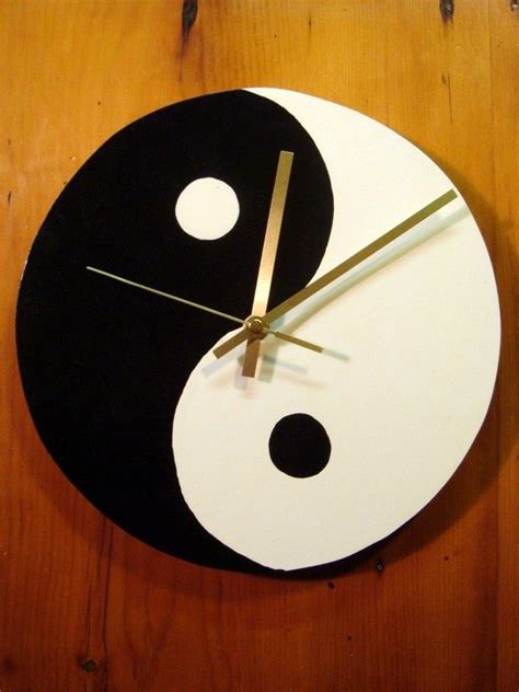 handmade wooden clocks yin  clocks  sale